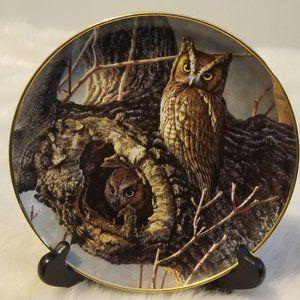 Vtg Danbury MInt Collector Plate Proud VIgil 1994